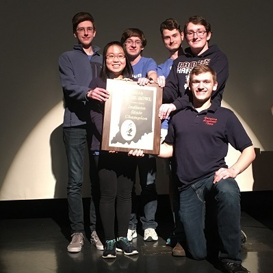 Quiz Bowl team wins state championship