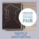 College Fair September 26